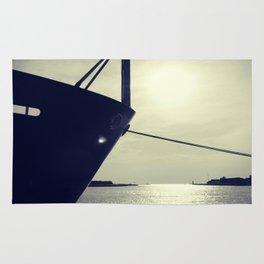 Lake Michigan Ship Rug
