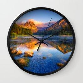 Revolutional Lake Wall Clock