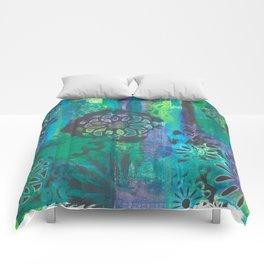 Kalediscopic Peacock Comforters