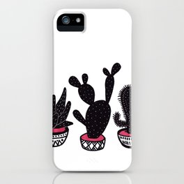 cactus row iPhone Case