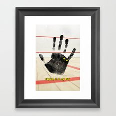 Squash is in my DNA Framed Art Print