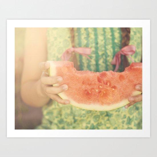 summer memory Art Print
