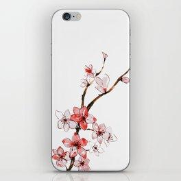 Cherry blossom 2 iPhone Skin