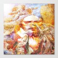 faith Canvas Prints featuring Faith by Ganech joe