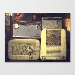 Radio Deluxe Canvas Print