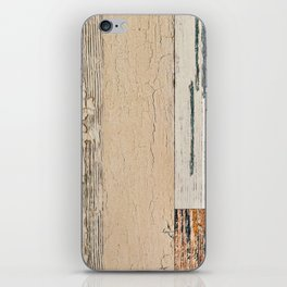 Old painted board iPhone Skin