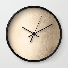 White Gold Sands Wall Clock