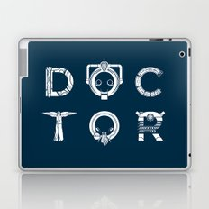 DOCTOR - clean tee print version Laptop & iPad Skin