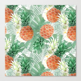 Pineapples. Canvas Print