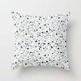 Terrazzooohhh Throw Pillow