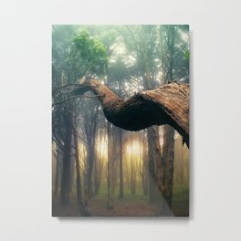 Dancer in the Forest Metal Print