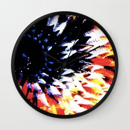 CoralColour Wall Clock