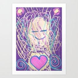 warm soul Art Print