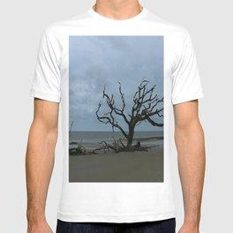 A Ghost Tree On Jekyll Island Beach T-shirt