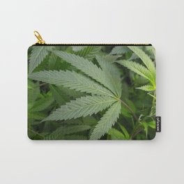 Pot Leaf on a Plant Carry-All Pouch