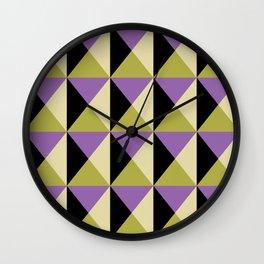 Geometric Pattern 930 Wall Clock