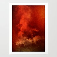 Containing The Storm Art Print