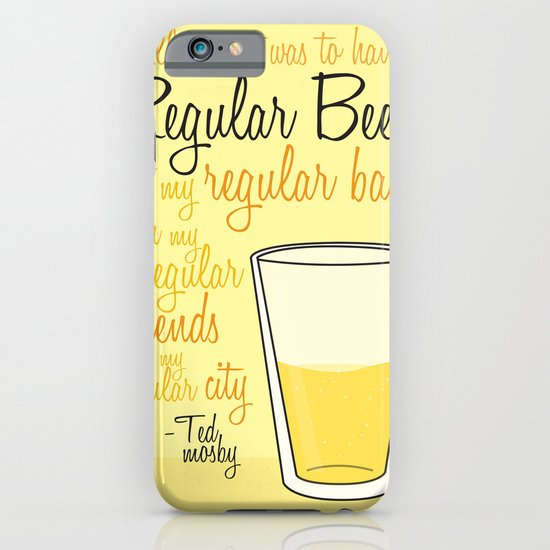 Tv drink quotes [how i met your mother] iPhone & iPod Case
