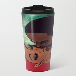Black Love Lives On Travel Mug