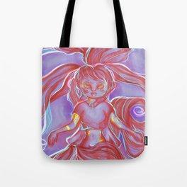 Mystical H A I R Lady Tote Bag