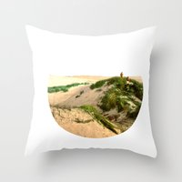 dune Throw Pillows featuring Dune by Protogami