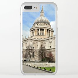 St Paul's Cathedral Clear iPhone Case