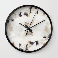 Ink and coffee II Wall Clock