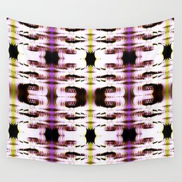 Digital White Plume Wall Tapestry