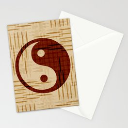 Yin Yang, Warp and Weft Stationery Cards