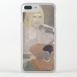 Cobain Clear iPhone Case