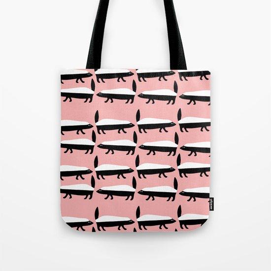 The Honey Badger Parade Tote Bag