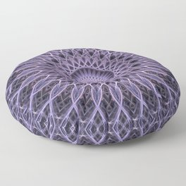 Plum tones mandala Floor Pillow