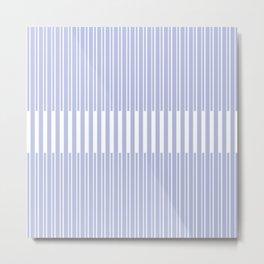 stripes. 6c. 1d Metal Print
