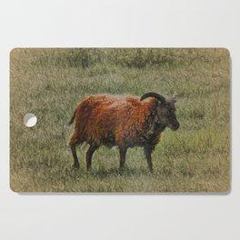 Soay Sheep Cutting Board