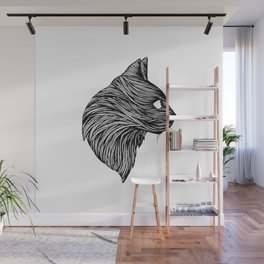THE BLACK CAT Wall Mural