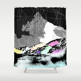 oh inverted world! Shower Curtain