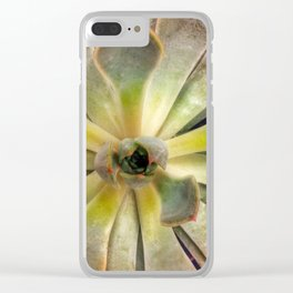 Life of a Succulent Clear iPhone Case