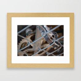 Bike Pedal Framed Art Print