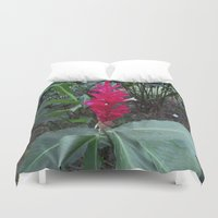 ginger Duvet Covers featuring Ginger by Alex Braman