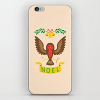 robin iPhone & iPod Skins featuring Robin by Wharton