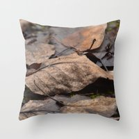 copper Throw Pillows featuring Copper by Tea Time With Emma