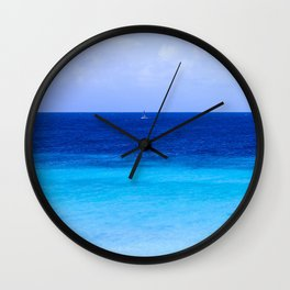 Sea 1 Wall Clock