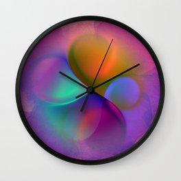 crossing colors -a- Wall Clock