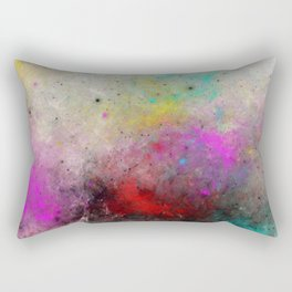 Abstract Cosmos - Colourful, space abstract Rectangular Pillow