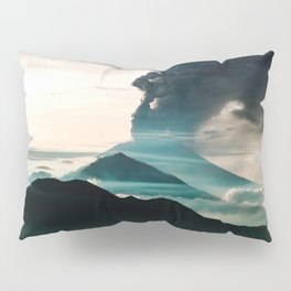Mount Agung Volcanic Eruption Pillow Sham