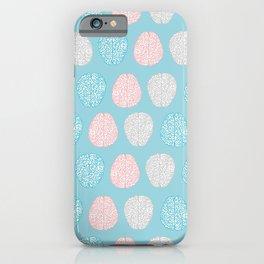 Pastel Brains Pattern iPhone Case