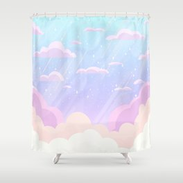Pastel Heaven Shower Curtain