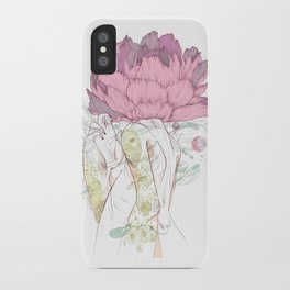 There's a Feeling In My Chest That Wants to Glide Like Leaves, and Set Like Fires 2/2 iPhone Case