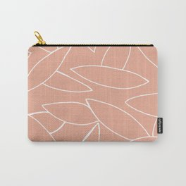 abstract tropical leaves Carry-All Pouch