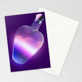 Gender Fluid Pride Potion Stationery Cards
